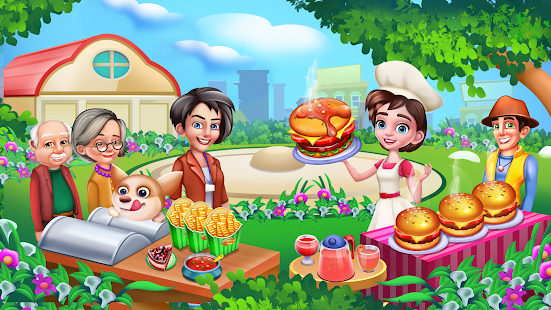 Chefu2019s Kitchen: Restaurant Cooking Games 2021 screenshots 14