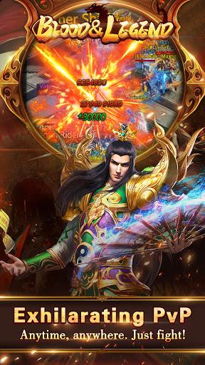 Blood & Legend:Dragon King hero mobile online game Apkfinish screenshots 6