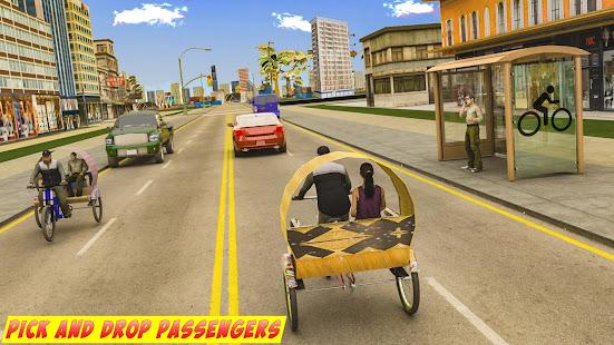 BMX Bicycle Taxi Driving City Passenger Simulator 1.2 Screenshots 5