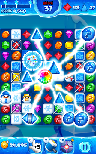 Jewel Pop Mania:Match 3 Puzzle modiapk screenshots 1