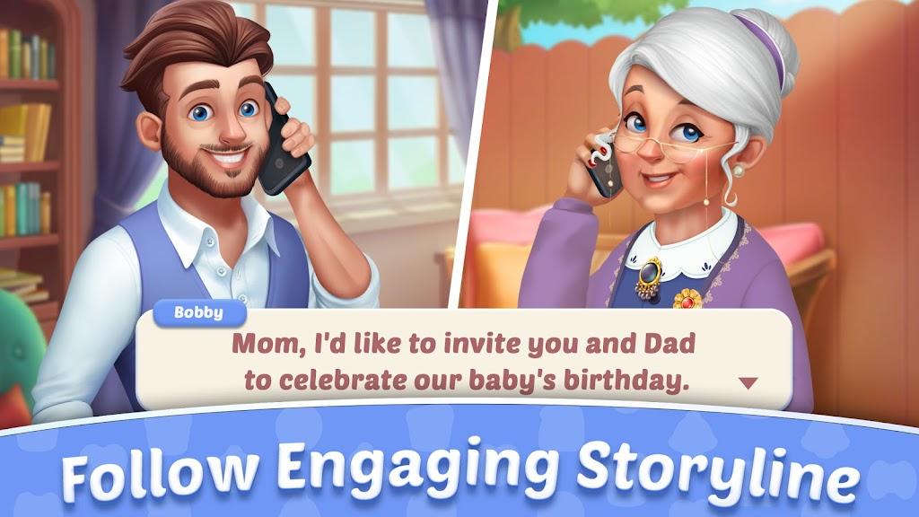 Baby Manor: Baby Raising Simulation & Home Design  poster 7