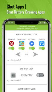 ShutApp: Real Battery Saver