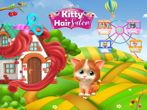 Pet Kitty Hair Salon Hairstyle Makeover  screenshots 4