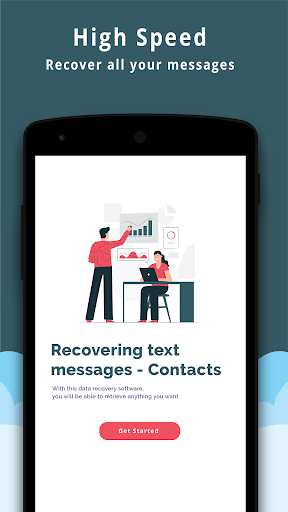 Text Messages Recovery - Contacts backup 5.1 screenshots 5