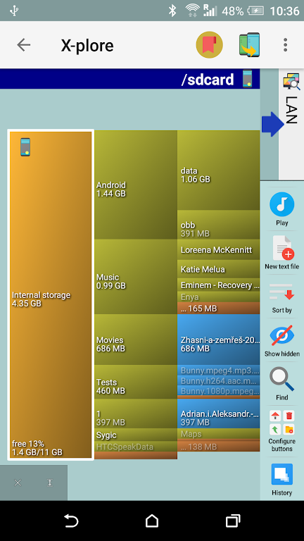X-plore File Manager poster 3