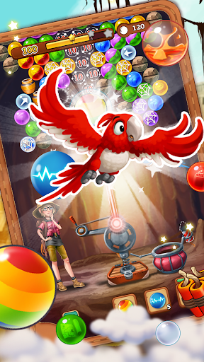Bubble Journey -  Bubble shooter & Adventure story android2mod screenshots 2