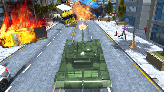 Tank Traffic Racer v 1.4 [Много денег] 4