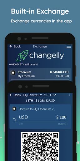 Edge - Bitcoin, Ethereum, Monero, Ripple Wallet  Screenshots 4