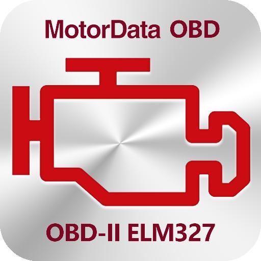 Diagnostik MotorData OBD Mobil. ELM OBD2 scanner