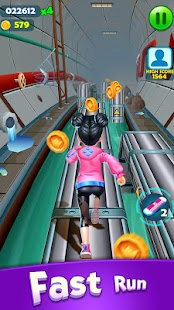 Subway Princess Runner Screenshot