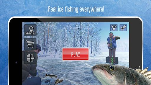 Ice fishing games for free. Fisherman simulator. 1.2004 screenshots 7