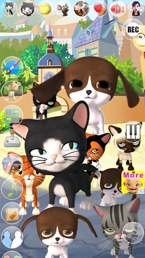 Talking Cat and Dog Kids Games  screenshots 14