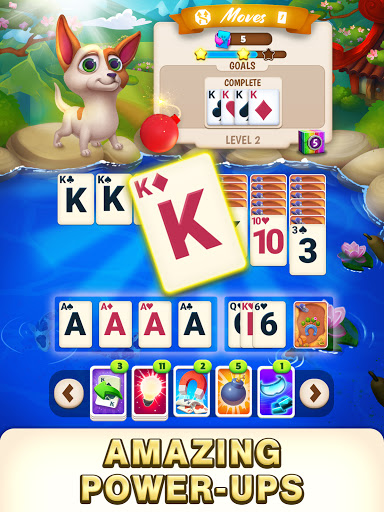 Solitaire Pets Adventure - Free Solitaire Fun Game  screenshots 1