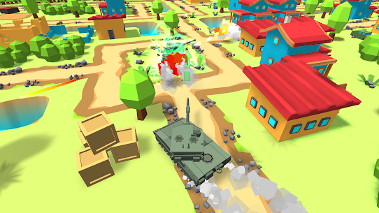 World Of Cartoon Tanks Hack for iOS and Android 4
