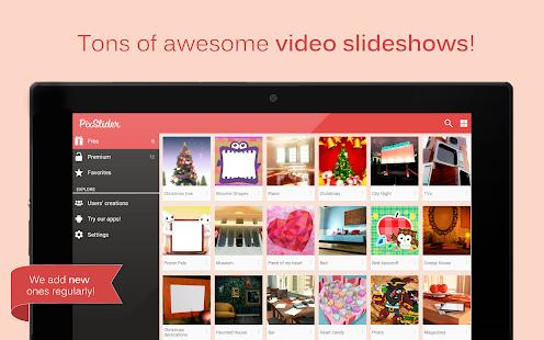PixSlider - Video Slideshows