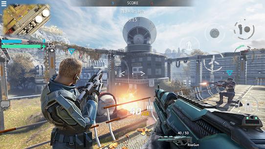 Infinity Ops Mod Apk: Online FPS Cyberpunk Shooter 5