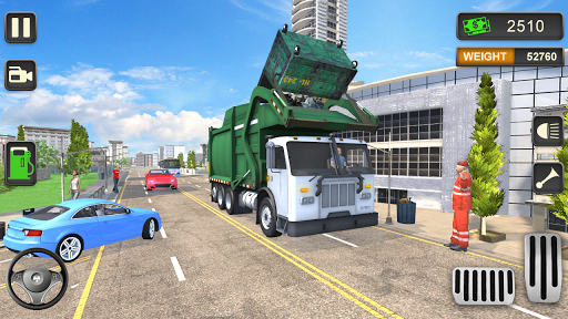 Télécharger Gratuit Trash Truck Simulator 2020 - Free Driving Games APK MOD (Astuce) screenshots 1