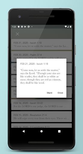 Daily Bible Verse Devotionals  screenshots 3