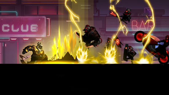 Cyber Fighters: Stickman Cyberpunk 2077 Action RPG - Screenshot 2