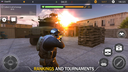 Code of War: Online Gun Shooting Games apkslow screenshots 18