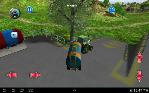 Tractor Farm Driving Simulator apkslow screenshots 3