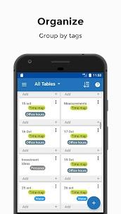 Table Notes Mod Apk- Pocket database  (Full Unlocked) 4