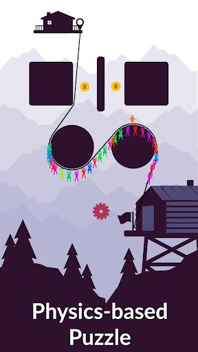 Zipline Valley - Physics Puzzle Game 1.9.4 screenshots 1