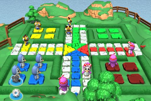 Ludo 3D Multiplayer 2.8 screenshots 1