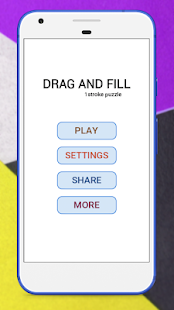 Drag And Fill -1Stroke Puzzle Screenshot