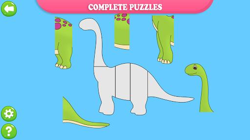 Dinosaur Puzzles for Kids  screenshots 4