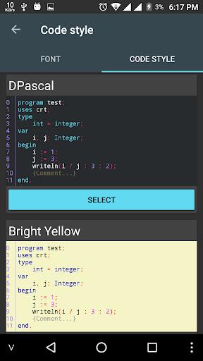 Pascal N-IDE - Editor And Compiler - Programming  Screenshots 7