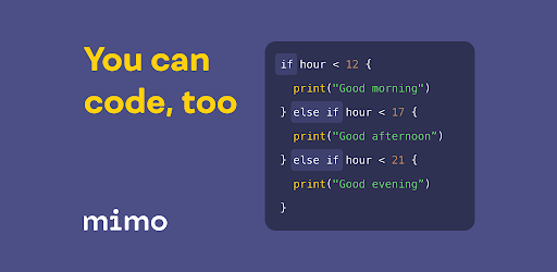 Mimo: Learn coding in HTML, JavaScript, Python screen 0