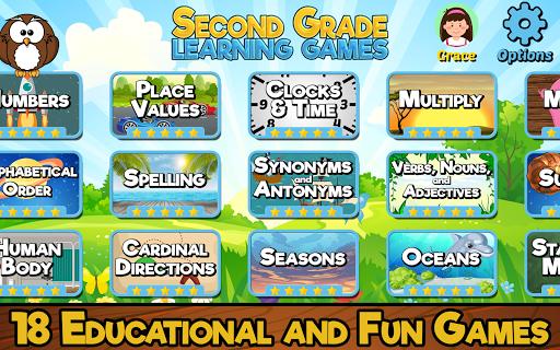 Second Grade Learning Games 5.3 screenshots 1