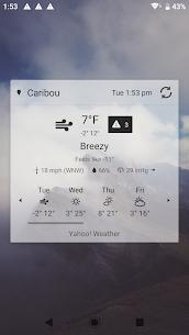 Digital Clock and Weather Widget MOD APK (Premium Unlocked) 5