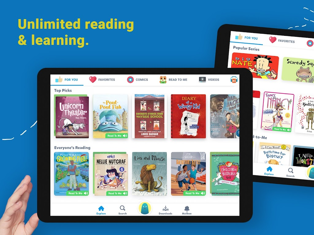 Epic: Kids' Books & Educational Reading Library  poster 5