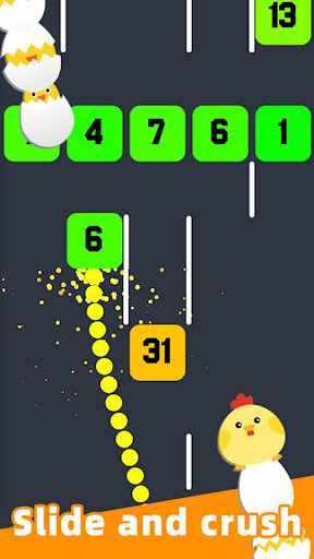 Slide And Crush - redesign snake game apktram screenshots 1
