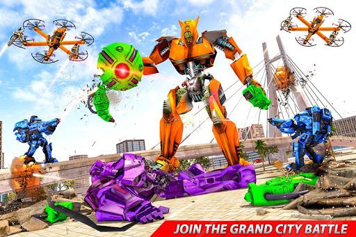 Drone Robot Car Transforming Gameu2013 Car Robot Games 1.1 Screenshots 5