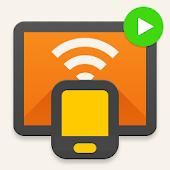 icono Transmitir a smart TV - Chromecast, enviar a TV