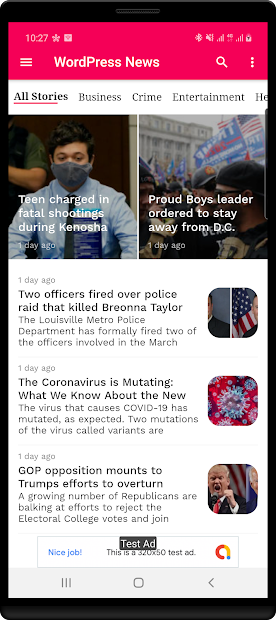 WordPress News App screenshot 7