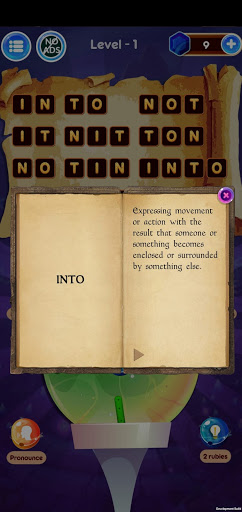 Word Wizard Puzzle - Connect Letters 4.1.7 screenshots 9