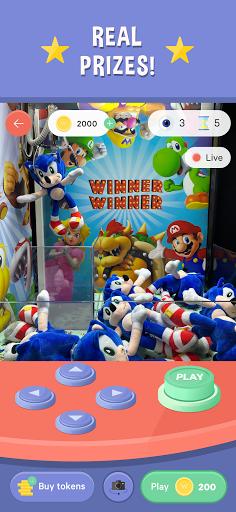 Winner Winner Live Arcade - Real Claw Machines screenshots 2