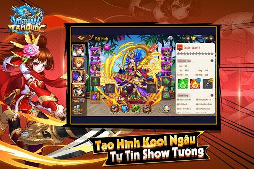 Vu00f5 Thu1ea7n Tam Quu1ed1c - Vo Than Tam Quoc 1.0.9 Screenshots 2
