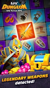 AFK Dungeon Mod Apk: Idle Action RPG (Unlimited Gold/Diamonds) 5