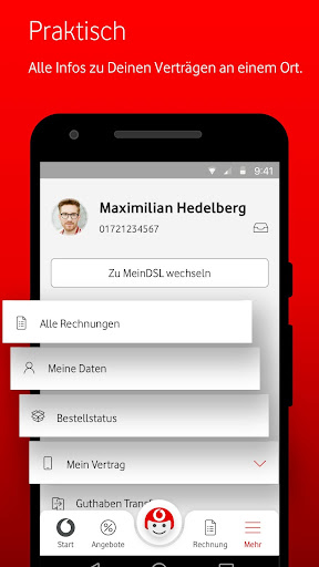 MeinVodafone For PC Windows (7, 8, 10, 10X) & Mac Computer Image Number- 7