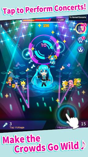 Hatsune Miku - Tap Wonder android2mod screenshots 2