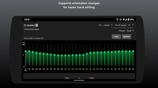 SpotEQ - 31 Band Equalizer For Left & Right Side 1.7.5 Screenshots 7