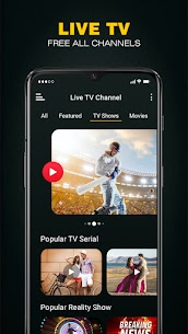 Live TV All Channels Free Online Guide 2