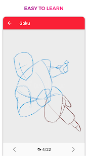 WeDraw - How to Draw Anime & Cartoon 1.0 Screenshots 4