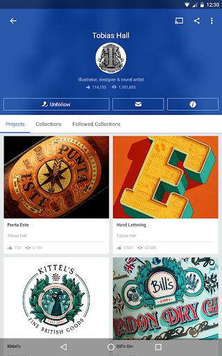 Behance: Photography, Graphic Design, Illustration 6.5.4 Screenshots 7