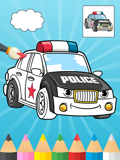 Cars Coloring Books for Kids  Screenshots 1